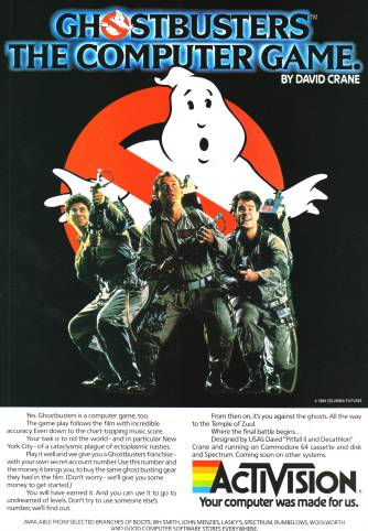 Ghostbusters Activision
