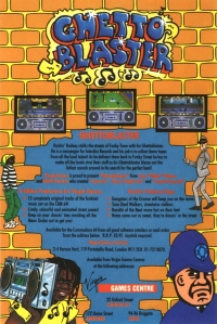 Ghettoblaster Advert