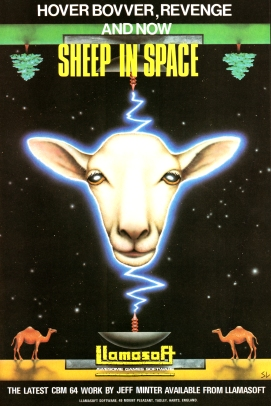 Sheep In Space Advert
