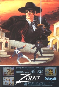 Zorro Advert