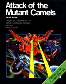 Attack Of The Mutant Camels - Llamasoft - C64