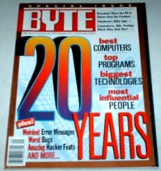 Byte September 1995 Magazine
