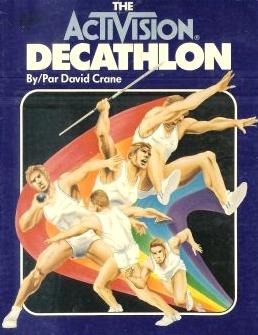 David Crane Activision Decathlon Atari 2600 VCS