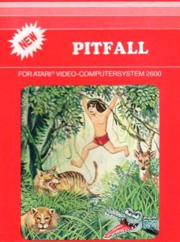 Pitfall Atari 2600 VCS