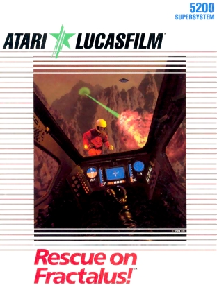 Lucasfilm - Rescue on Fractalus Cover