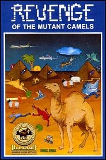 Revenge Of The Mutant Camels - Llamasoft - C64