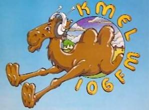 1982 Camel Logo - KMEL 106 FM