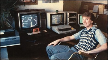 Bill Hogue - Miner 2049er - 1983 - Big Five Software