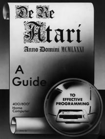 De Re Atari - Programming Guide