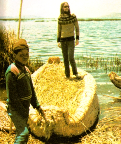 Jeff Minter - Lake Titicaca - Peru
