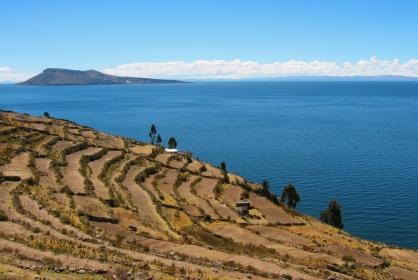 Lake Titicaca Island - Peru