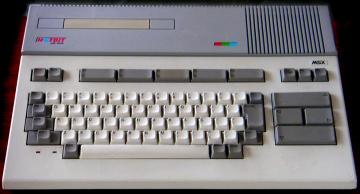 Sharp MSX 1 Hotbit HB-8000